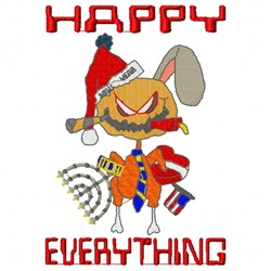Every Holiday embroidery design