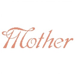 Mother Fancy embroidery design