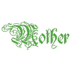 Mother Elaborate embroidery design