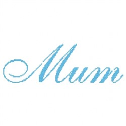 Mum Simple embroidery design