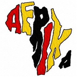 Afrika Continent embroidery design