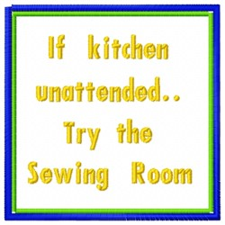 Kitchen Sewing embroidery design