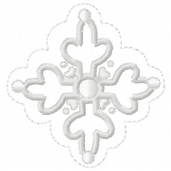 Ornamnet embroidery design