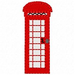 Phone Box embroidery design