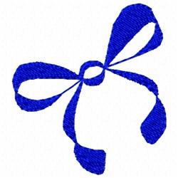 Ribbon Tie embroidery design