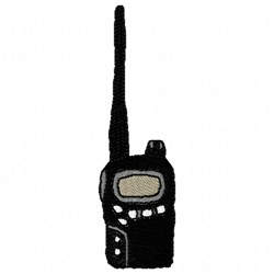 Walkie Talkie embroidery design