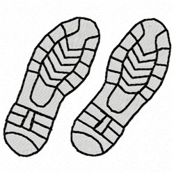 Two Shoes embroidery design