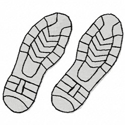 Two Soles embroidery design