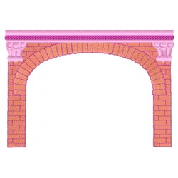 Fireplace Mantle embroidery design