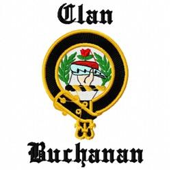 Clan Buchanan embroidery design