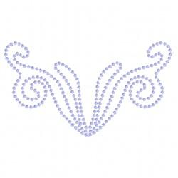 Beaded Swirl embroidery design