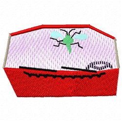 Bug Windshield embroidery design
