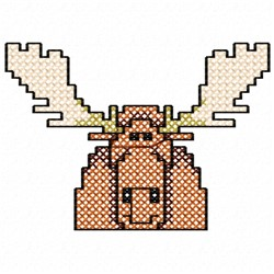 Moose Stitches embroidery design