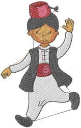 Turkish Boy embroidery design
