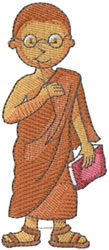 Thai Boy embroidery design