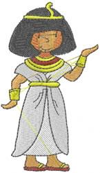 Egyptian Girl embroidery design