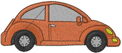 Volkswagen Bug embroidery design
