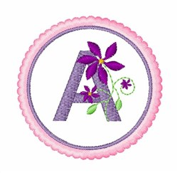 Floral Motif A embroidery design