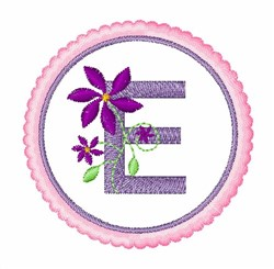 Floral Motif E embroidery design