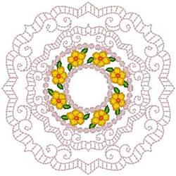 Doily Design embroidery design