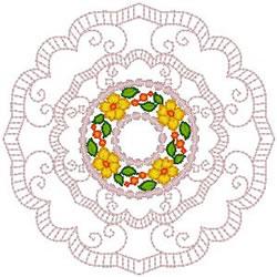 Pretty Doily embroidery design