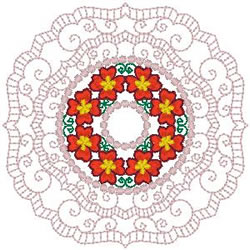 Fancy Doily embroidery design