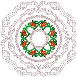 Elegant Doily embroidery design