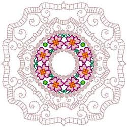 Filigree Doily embroidery design