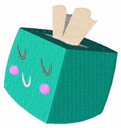 Box of Tissues embroidery design