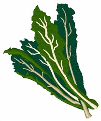 Leafy Greens embroidery design