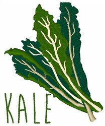 Kale embroidery design