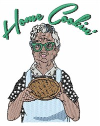 Home Cookin embroidery design