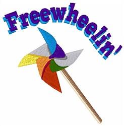 Freewheelin embroidery design