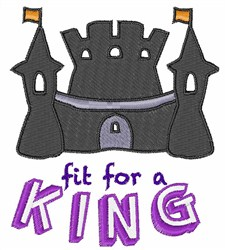 For A King embroidery design