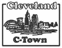 C-Town embroidery design