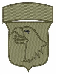 US Airborne embroidery design