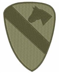 US Cavalry embroidery design