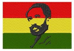 Haile Selassie I embroidery design