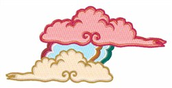 Fluffy Clouds embroidery design
