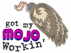 My Mojo embroidery design