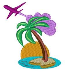 Tropical Destinations embroidery design