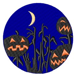 Jack O Lanterns embroidery design