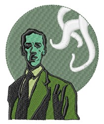 Lovecraft embroidery design