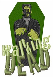 Walking Dead embroidery design