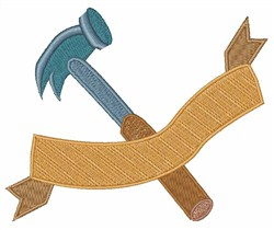 Claw Hammer embroidery design