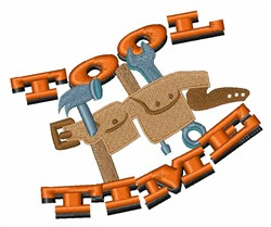 Tool Time Belt embroidery design