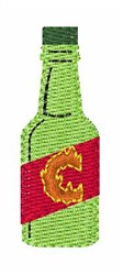 Hot Sauce Font c embroidery design