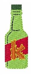 Hot Sauce Font k embroidery design