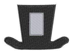 Dapper Hat Font I embroidery design