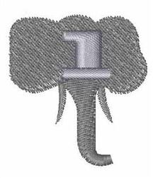 Elephant Font l embroidery design